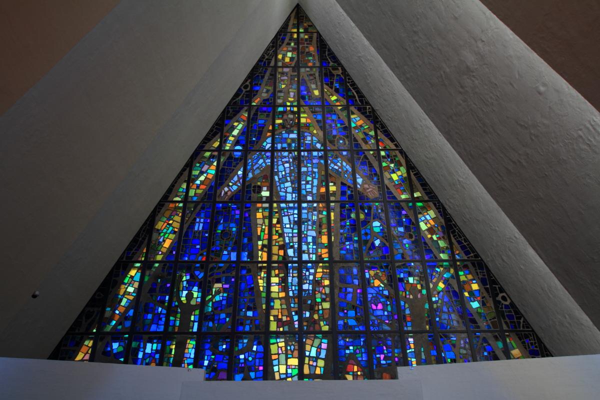 Glasmosaik von Victor Sparre