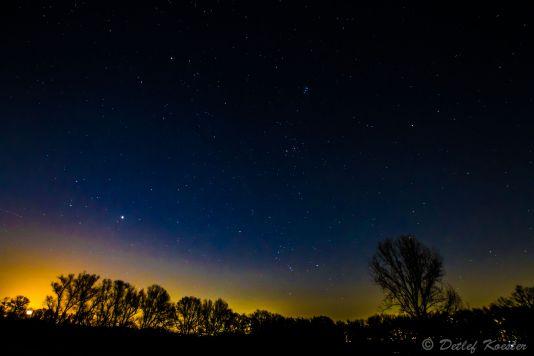 Sternenhimmel Sterne stars heaven evening Abend Detlef Koester Dortmund