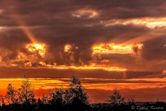 Landschaftsfotografie  Detlef Koester Fotografie Dortmund Goldene Stunde
