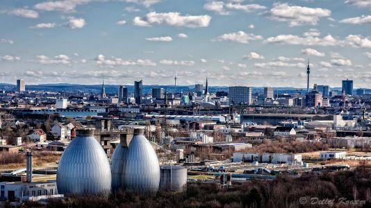 Detlef Koester Dortmund Fotografie City Skyline