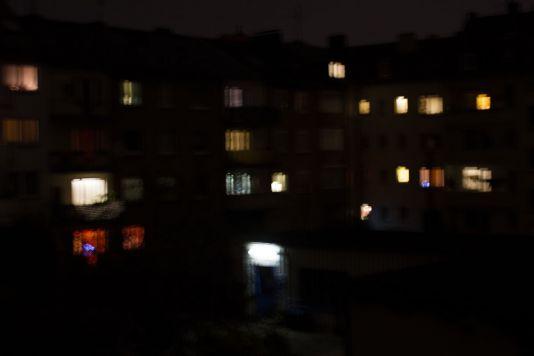 Abend Licht Hinterhof Detlef Koester Dortmund Fotografie