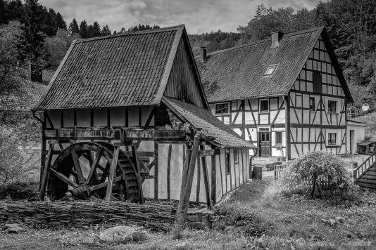 Landschaftsfotografie  Detlef Koester Fotografie Dortmund Wassermühle water mill