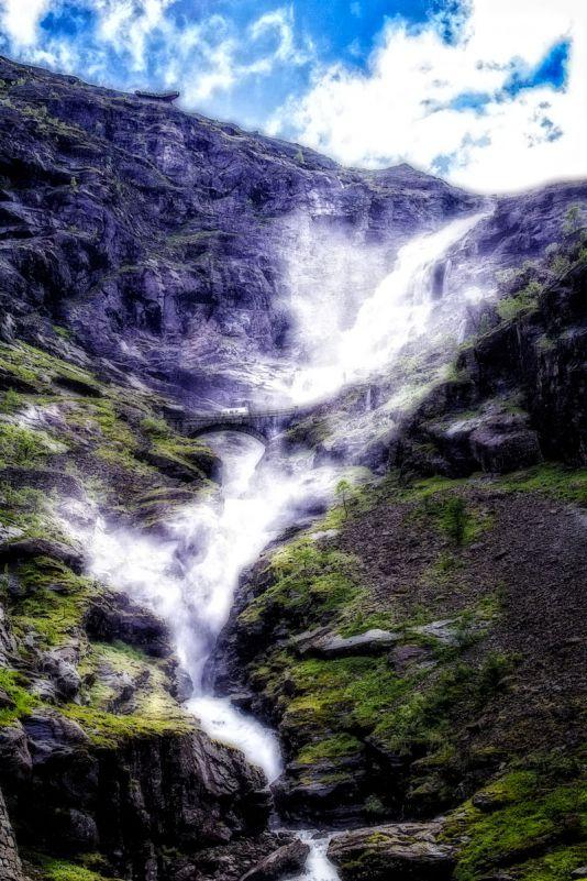 Sitgfossen Wasserfall Norwegen Detlef Koester Fotograf Dortmund