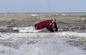 Kitesurfer sea sport landscape Meer Strand Detlef Koester Dortmund St. Peter