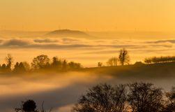 Landschaftsfotografie Rheintal im Nebel Detlef Koester Fotografie